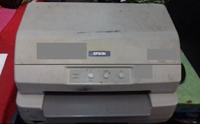 Cara Ganti Jarum Head Printer Passbook Epson PLQ-20