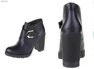 botines piel negros de la marca Sienna