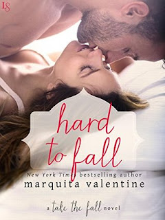 romance novel covers, contemporary romance, Hard to Fall by Marquita Valentine