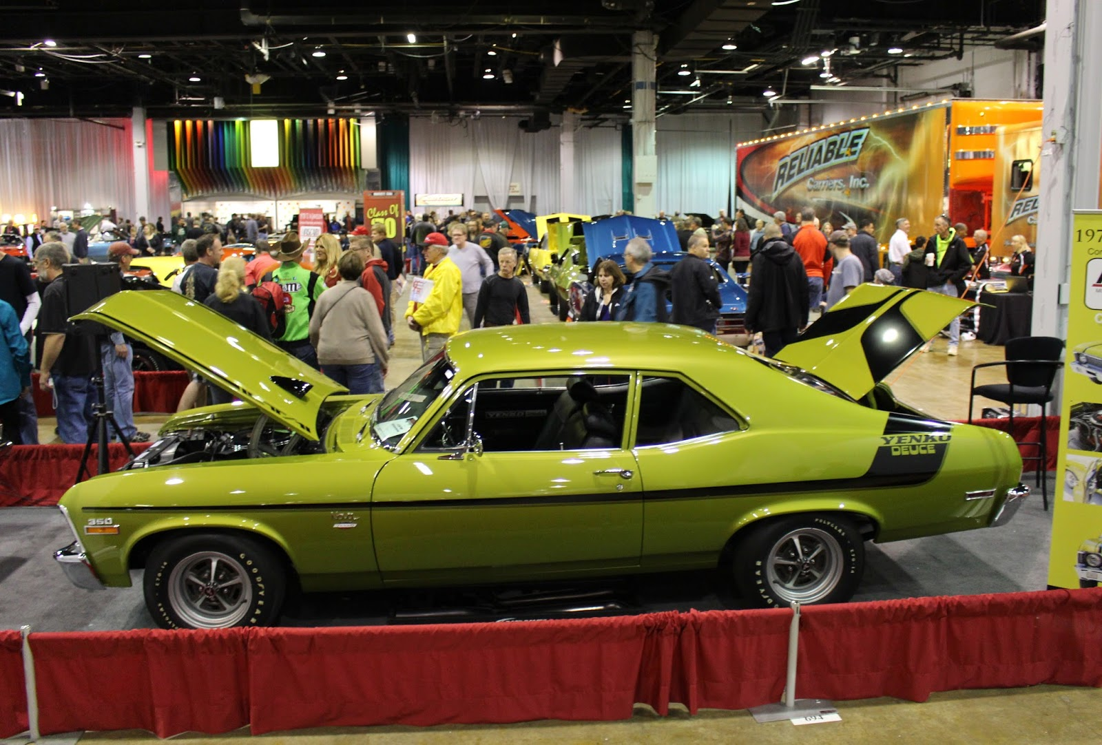 2015 Muscle Car And Corvette Nationals Car Show Mag