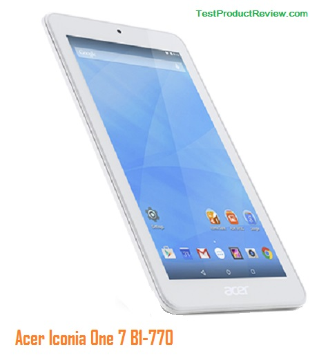 test acer tablet