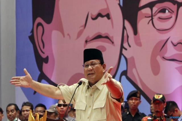 Prabowo Curhat, Banyak Tokoh yang Diancam Karena Mendukung Dirinya