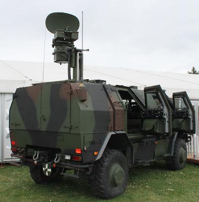 El Ejército adquirió radares de vigilancia terrestre