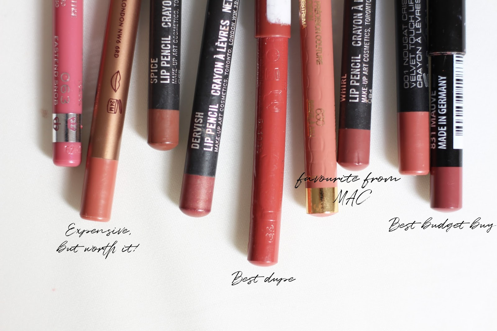 Exceptionnel Jodie Melissa: My Most Worn, Everyday Lip Liners SO47