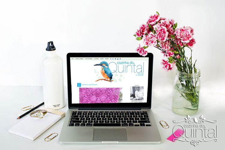 Meu blog é uma extensão da minha casa e das coisas que eu amo.