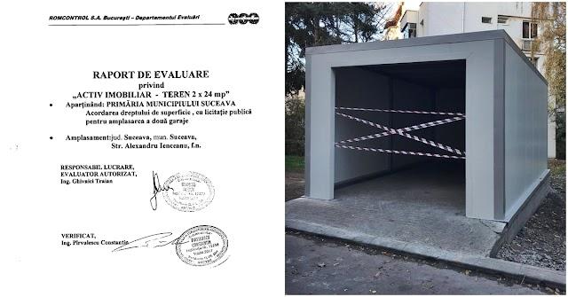 Calcule dubioase pentru stabilirea prețului terenului unde își face garaj consilierul PSD Gheorghe Petrescu