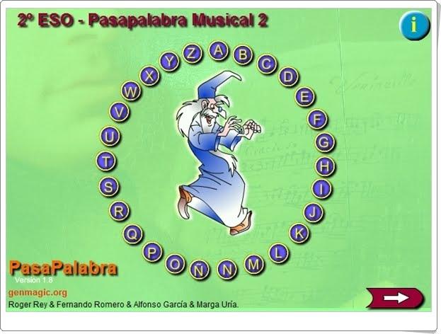 """""""Pasapalabra Musical II de 2º de Secundaria"""""""