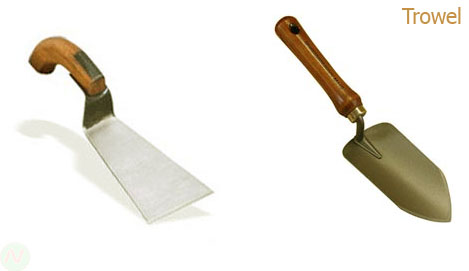 Garden Tools Implements Name Images Necessary Vocabulary