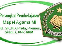 Silahkan Unduh Perangkat Pembelajaran Mapel Agama Untuk Madrasah Ibtidaiyah (MI)