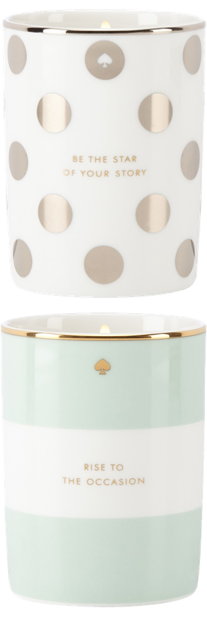 kate spade new york assorted candles