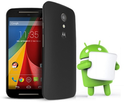 Android Marshmallow Update on Moto G 2nd Gen