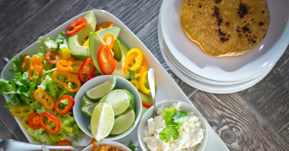 The Chubby Vegetarian Asian Inspired Taco Bar For The Big