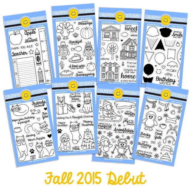 Sunny Studio Stamps: Fall 2015 Debut collection of Stamps & Dies