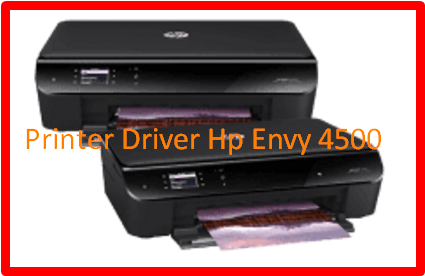 Printer Driver Hp Envy 4500