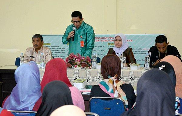Bina UMKM Pariaman, PT Semen Padang Akan Bentuk Kampung Sulaman