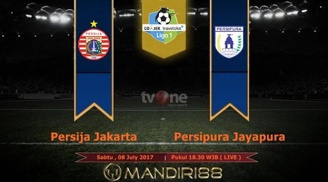 Prediksi Bola : Persija Jakarta Vs Persipura Jayapura , Sabtu 08 July 2017 Pukul 18.30 WIB @ TVONE