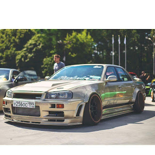 Widebody Nissan Skyline R34  Sedan