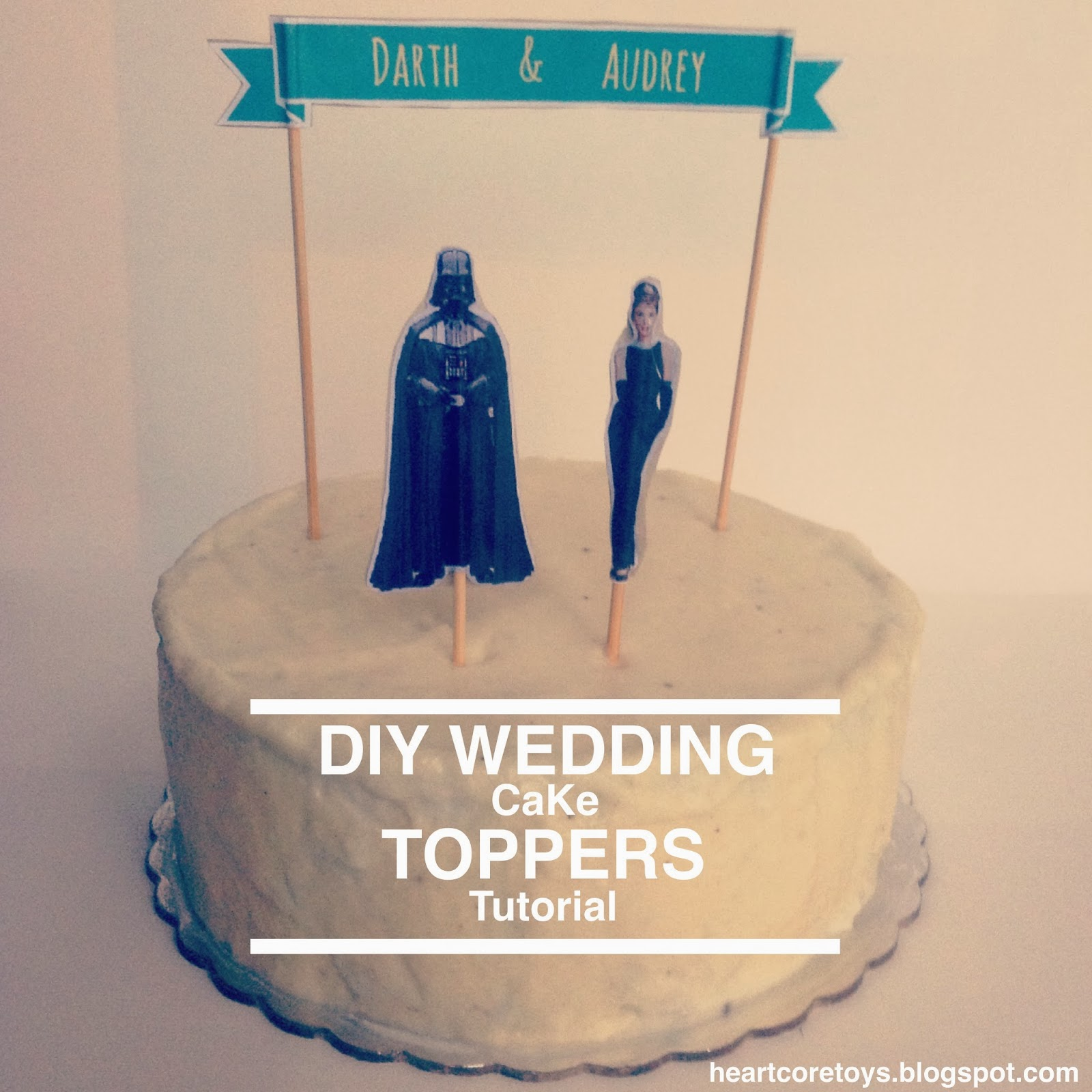 Heartcore D I Y Wedding Cake Toppers