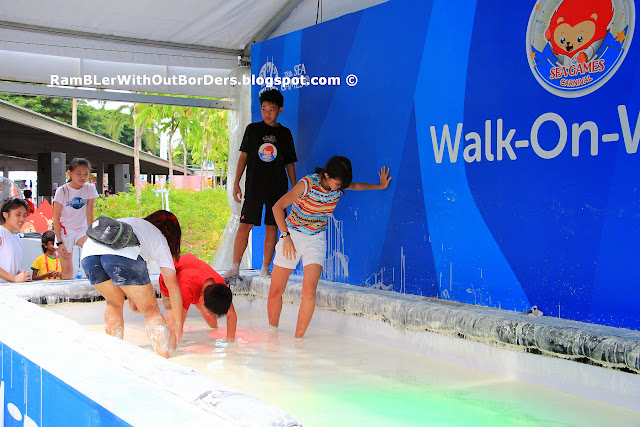 Walk-On-Water, SEA Games Carnival, Sports Hub, Singapore