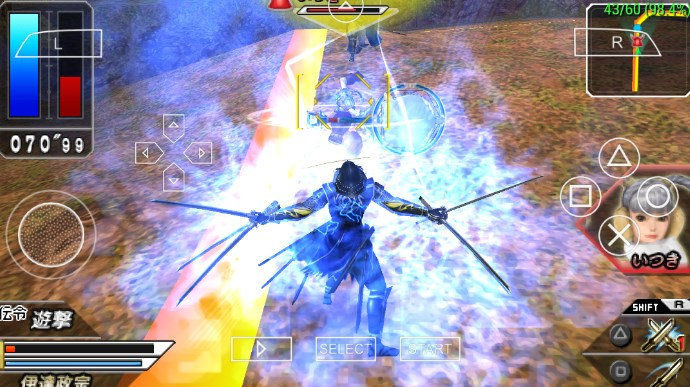 Download Game Sengoku Basara PPSSPP Iso Android All Series