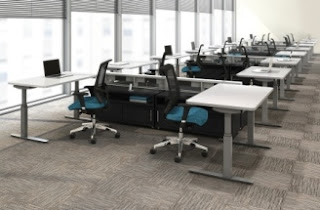 Mayline RGE Sit To Stand Tables