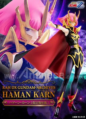 Figura Haman Karn RAH DX Gundam Archive Edición Limitada Mobile Suit Gundam ZZ