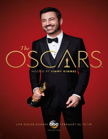 Poster Of The 89th Annual Academy Awards 2017 720p HDTV x264 Free Download Watch Online downloadhub.net