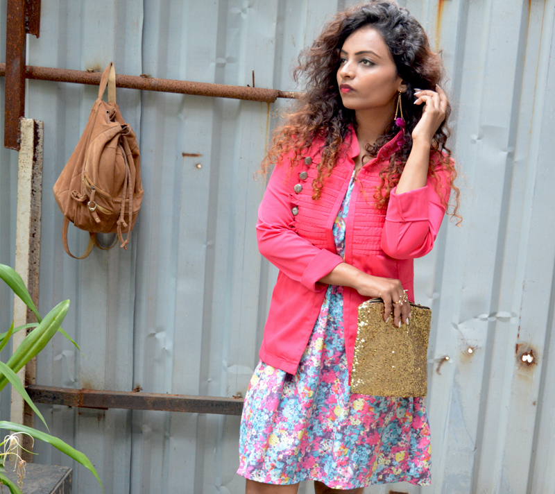 top fashion bloggers india floral dress