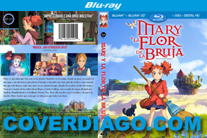 Mary and the witch's flower - BLURAY