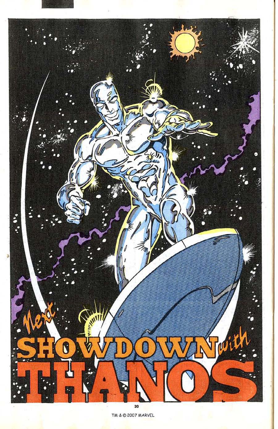 Read online Silver Surfer (1987) comic -  Issue #37 - 32