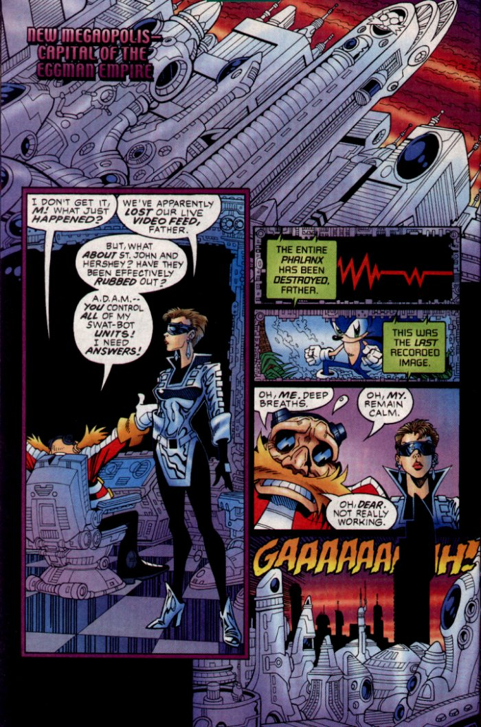 Read online Sonic The Hedgehog comic -  Issue #130 - 10