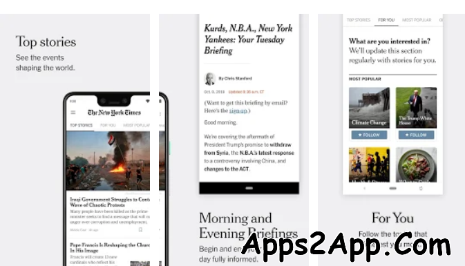 The New York Times Subscribed Mod APK
