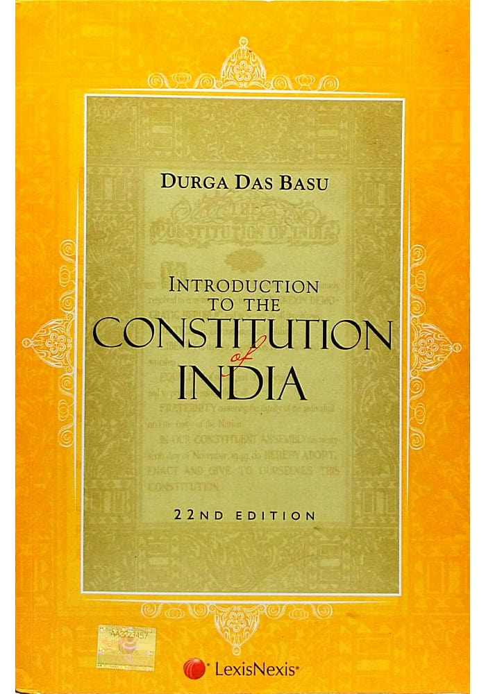 Introduction To The Constitution Of India D.d.basu Pdf