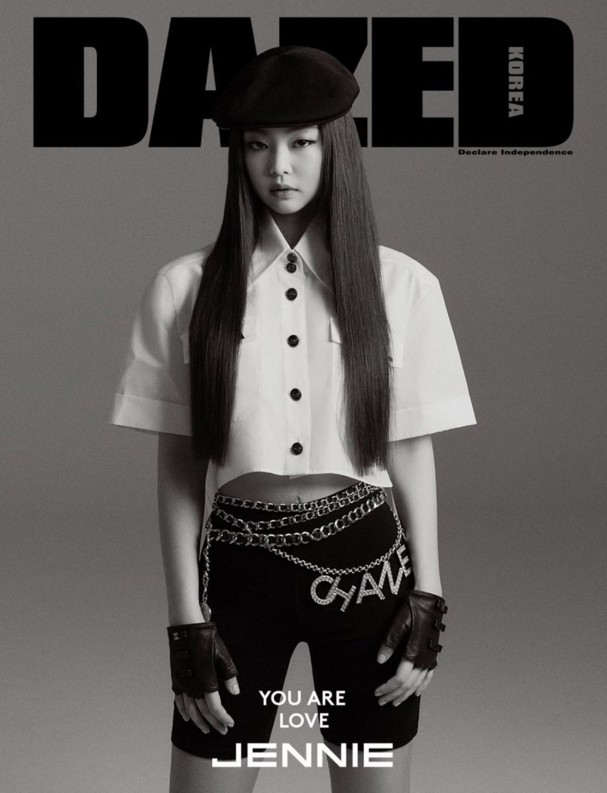 BLACKPINK's Jennie covers Dazed Korea April 2019