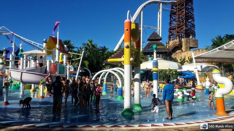 Arca de Noé - Beach Park - parque aquático do Ceará