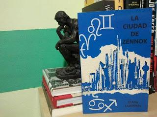 Libro de Elena Cardenal: la ciudad de Zénnox