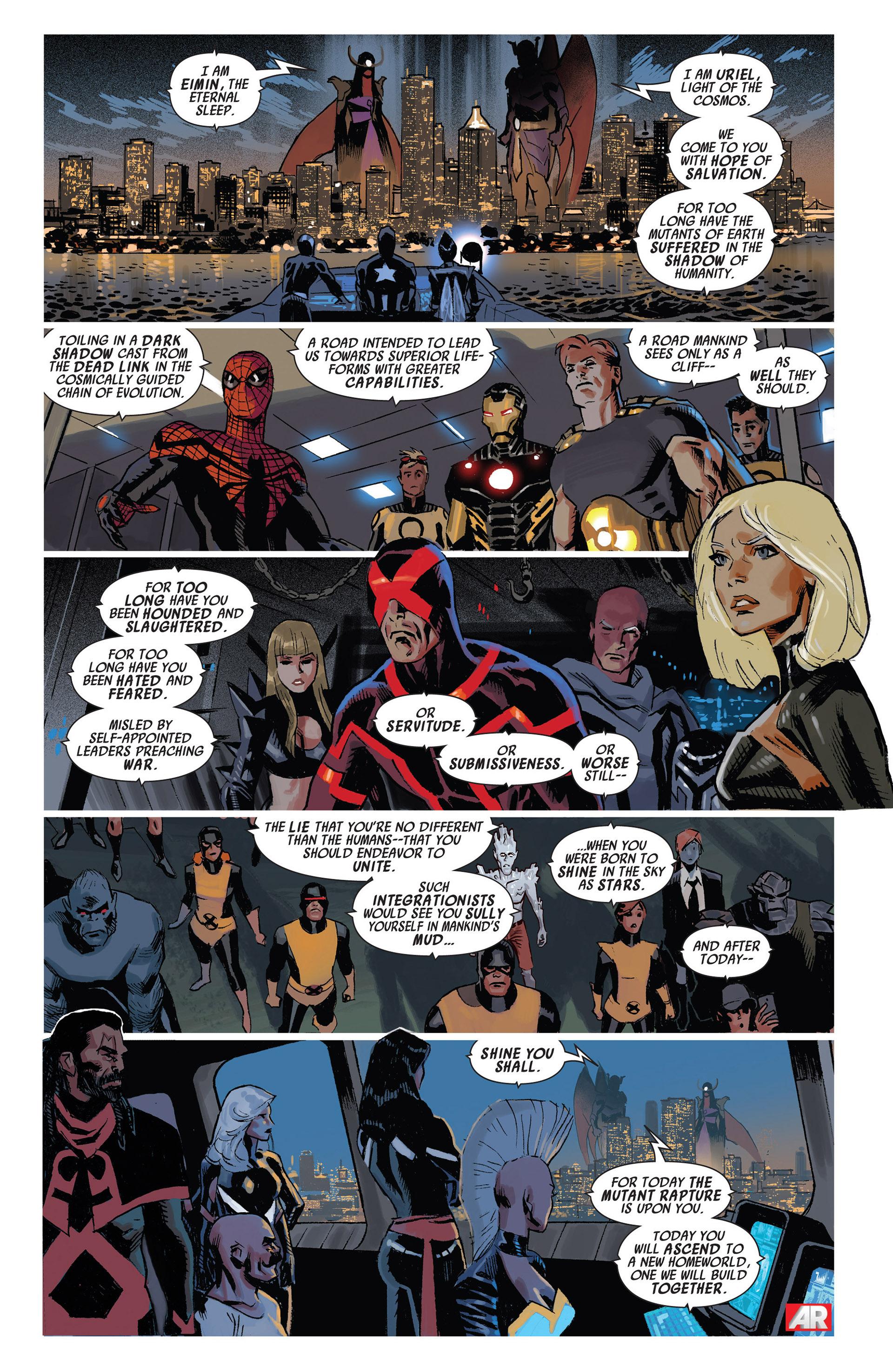 Read online Uncanny Avengers (2012) comic -  Issue #11 - 21