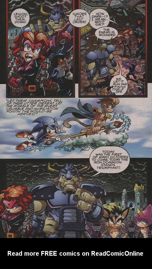 Read online Sonic The Hedgehog comic -  Issue #202 - 15