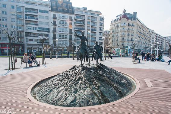 Plaza Cervantes. 20 cosas para ver en Donostia
