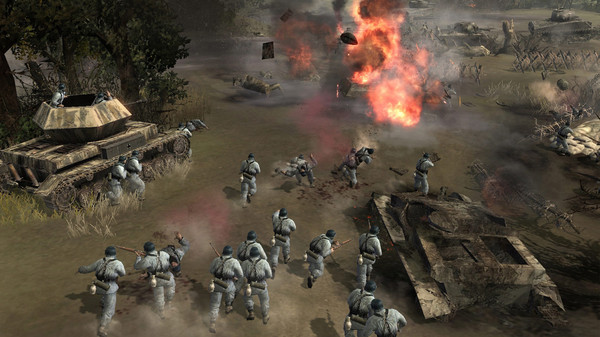 Company of Heroes Game Play