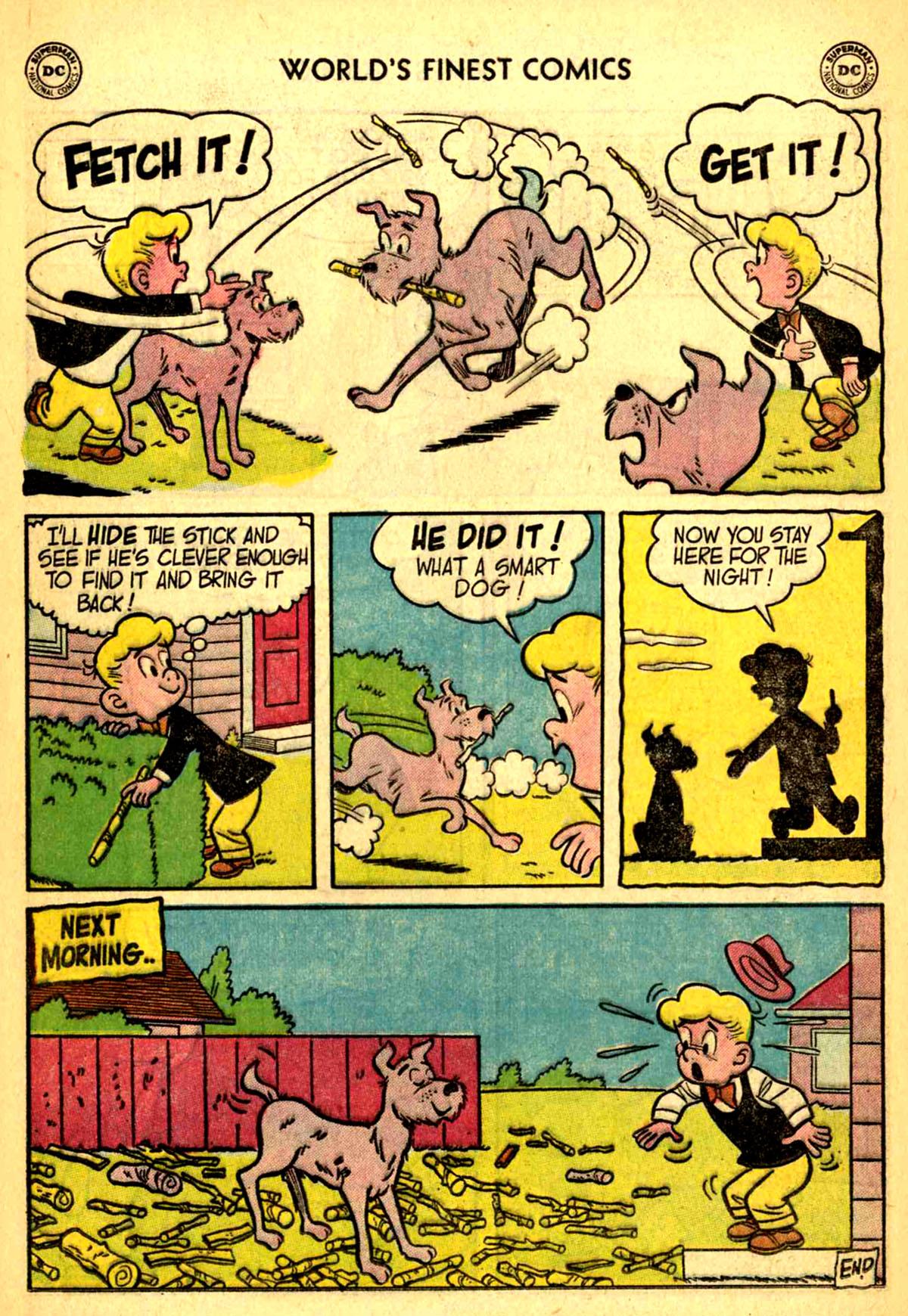 Read online World's Finest Comics comic -  Issue #77 - 24