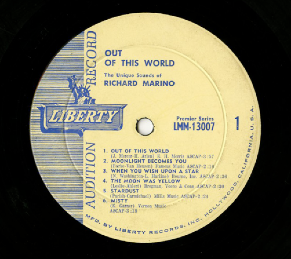 Unearthed In The Atomic Attic: Out Of This World - Richard Marino ...