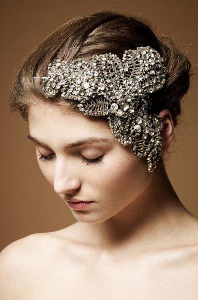 Jenny Packham Bridal Headdress Collection Belle The Magazine