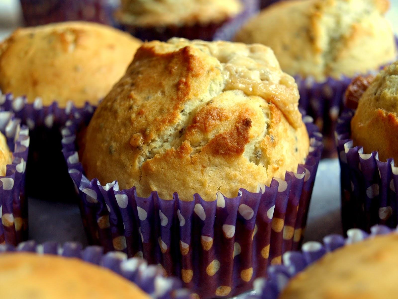 Nieziemskie muffinki z chałwą