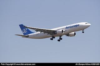 Avión Airbus A330 EC-KOM