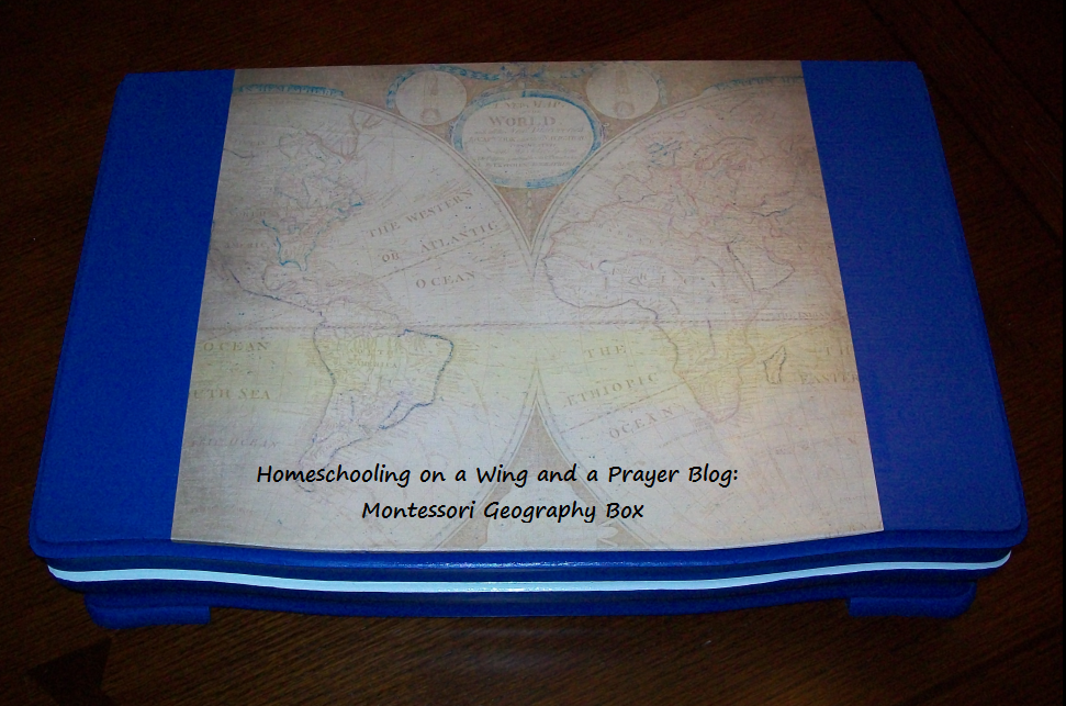 Homeschooling on a wing and a prayer geography help i hope to also get a video done in the near future showing the montessori sorting box i have a whole long actually a few posts on fandeluxe Gallery