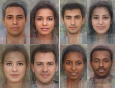 National facial averages by Collin Spears