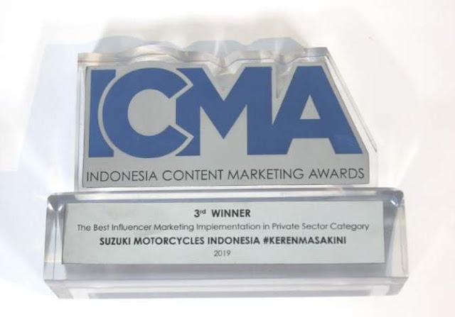 Penghargaan ICMA 2019 untuk Suzuki #kerenmasakini