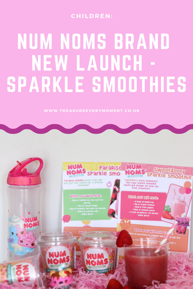 CHILDREN: Num Noms Brand New Launch - Sparkle Smoothies