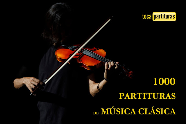 LISTADO 57 PARTITURAS DE MÚSICA CLÁSICA